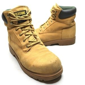Wolverine Cheyenne Boots Work Boots Suede Leather